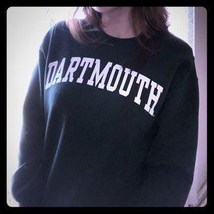 Dartmouth collegiate crewneck sweatshirt